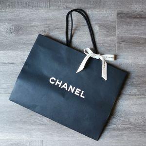 Chanel Medium Paper Shopping Bag with Ribbon